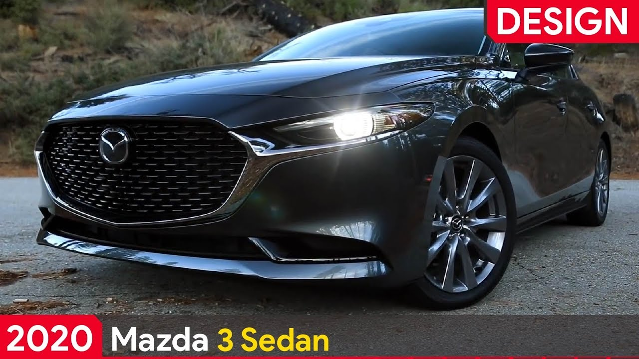 2020 Mazda 3 Sedan Machine Gray Metallic Exterior Design Youtube