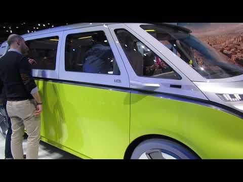 Volkswagen ID Buzz Outside Geneva 2017