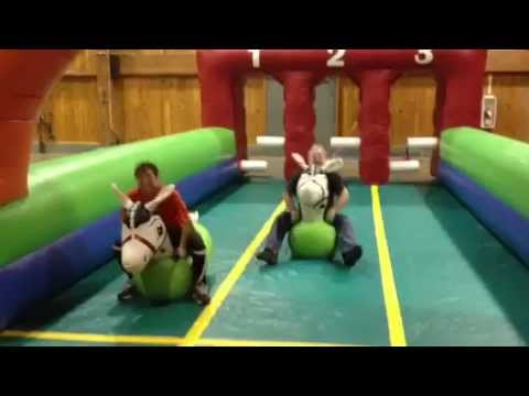Horse Derby Race Inflatable Game - Rentals For Parties And Events