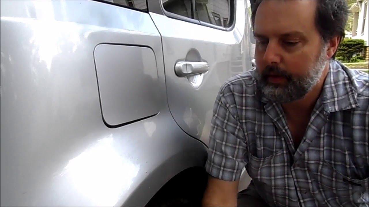 Fuel Door Hinge Lubrication - YouTube
