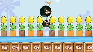 Angry Birds Bomb 2 - EGG PROTECTOR THROW AWAY ALL BAD PIGGIES