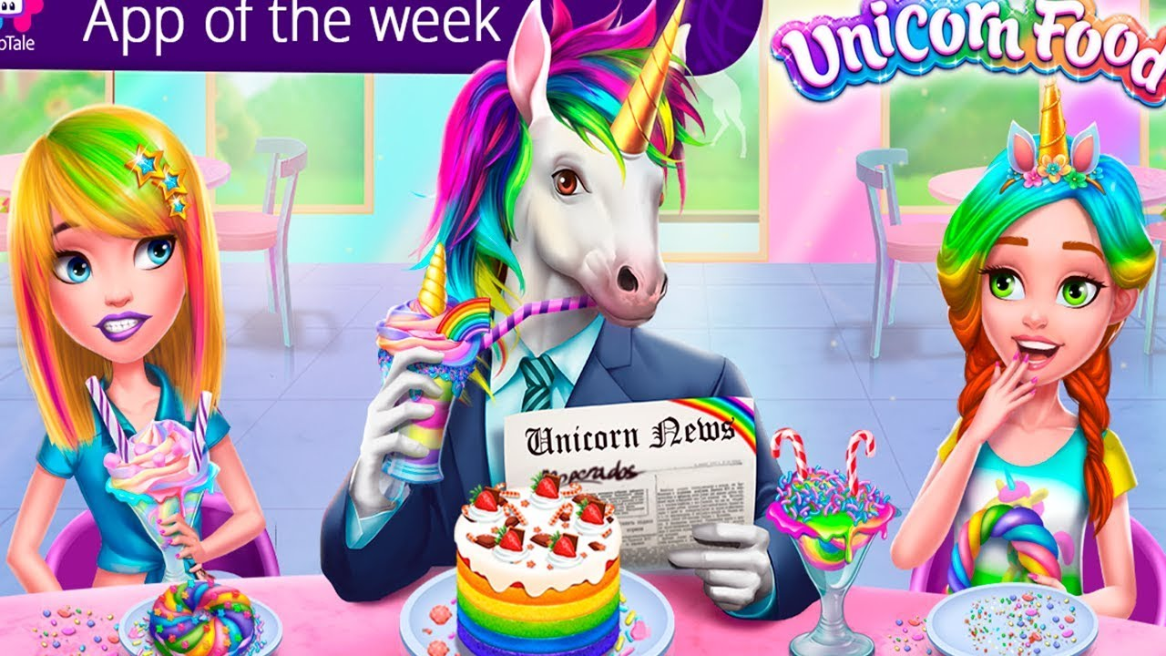 Comida De Unicornio Juego Para Ninas Youtube