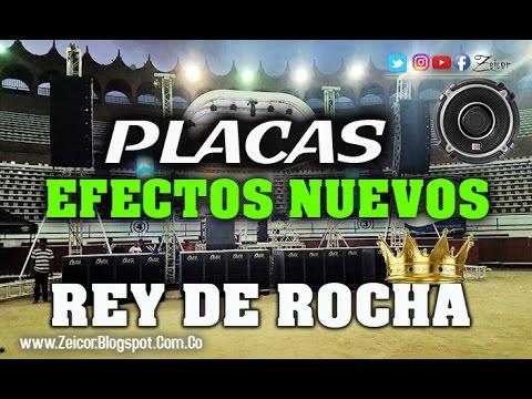 Nuevas Placas para canciones del REY DE ROCHA