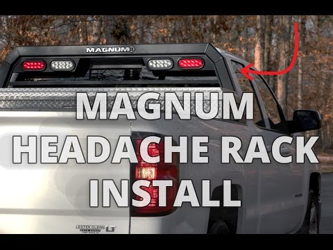 How to Install MAGNUM Headache Rack DIY Ranch Hand Headache Rack Wiring Diagram on