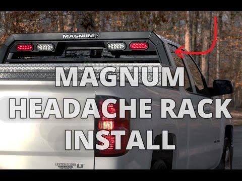 How to Install MAGNUM Headache Rack DIY - YouTube