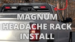 How to Install MAGNUM Headache Rack DIY