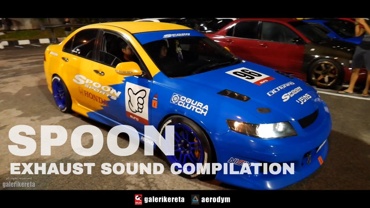 Honda Spoon Sound Compilation Xo Autosport Street Style In
