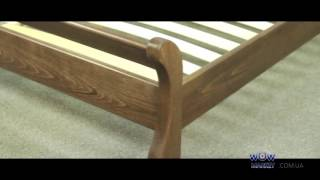 Обзор деревянной Кровати Соната Аурель от магазина wowmarket.com.ua