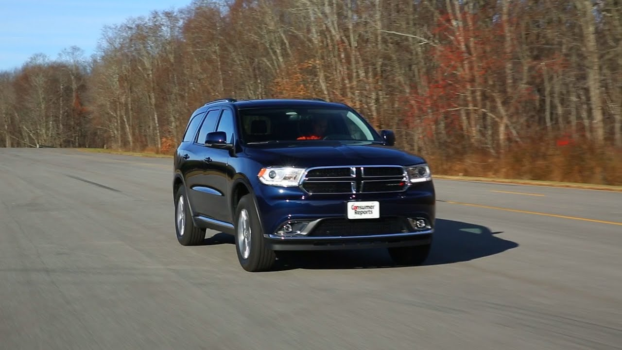 2014 Dodge Durango review | Consumer Reports - YouTube