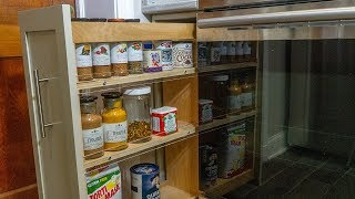 diy pull out spice drawer