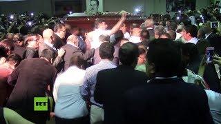 Ceremonia conmemora al ex presidente peruano Alan García