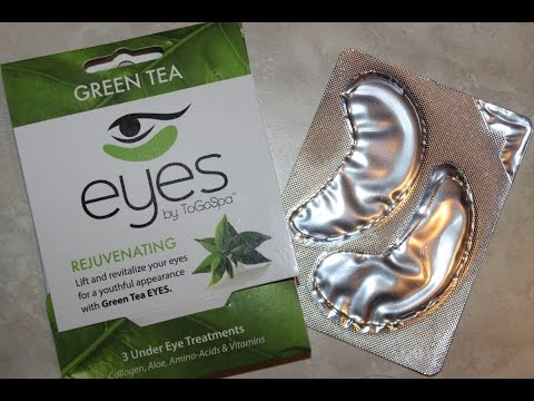 Eyes By ToGoSpa Green Tea Rejuvenating Under Eye Treatment