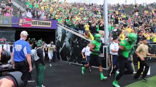 Sights and sounds from the Oregon Ducks spring football game