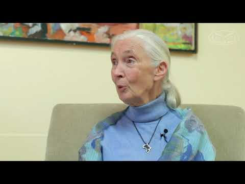 Jane Goodall Advice For FAU Students