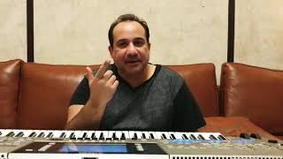 Ustaad Rahat Fateh Ali Khan Sahab's love & support for Khan Saab's new song DOOR TERE TON