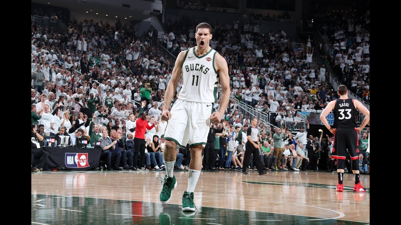 Brook Lopez Steps Up Big Late In ECF Game 1, Has Career Playoff Performance