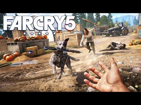FAR CRY 5 WALKTHROUGH, PART 5! (Far Cry 5 Gameplay)