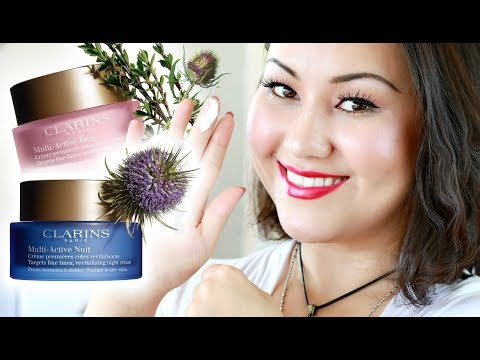 CLARINS MULTI ACTIVE DAY & NIGHT CREAMS | Things You Must Know | Honest Review