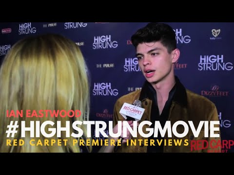 "Ian Eastwood at the Red Carpet Premiere for ""High Strung"" #‎HighStrungMovie"