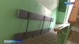 В Севастополе инвалид добивается возможности беспрепятственно выходить на улицу