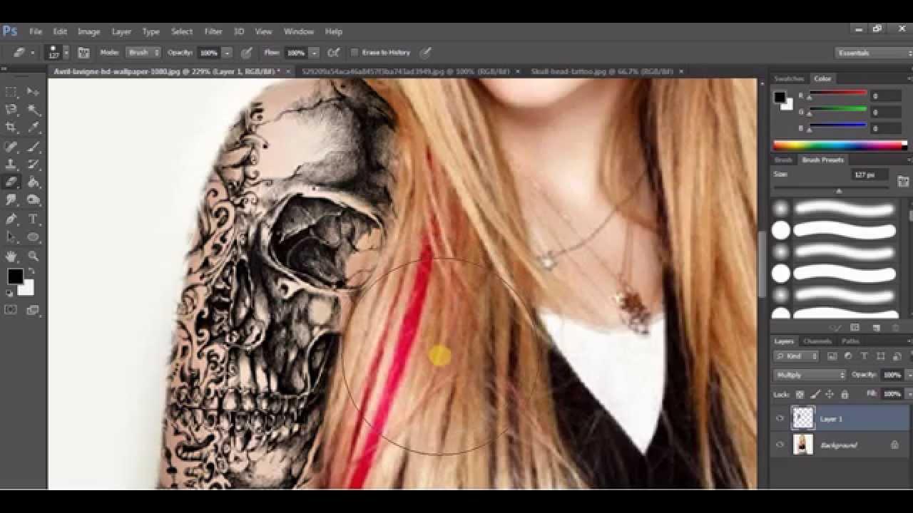 Photoshop Tattoo Tutorial