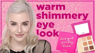 Warm Shimmery Eye With Don T Quit Your Day Dream Palette