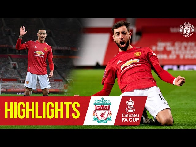 Fernandes stunner wins five-goal thriller! | Manchester United 3-2 Liverpool | Emirates FA Cup