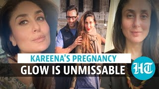 Watch Kareena Kapoor's unmissable pregnancy glow as she sips coffee amid hills