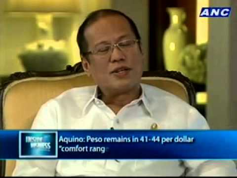 "ANC Inside Business: One on One with Pres. Benigno ""Noynoy"" Aquino III 1/2"