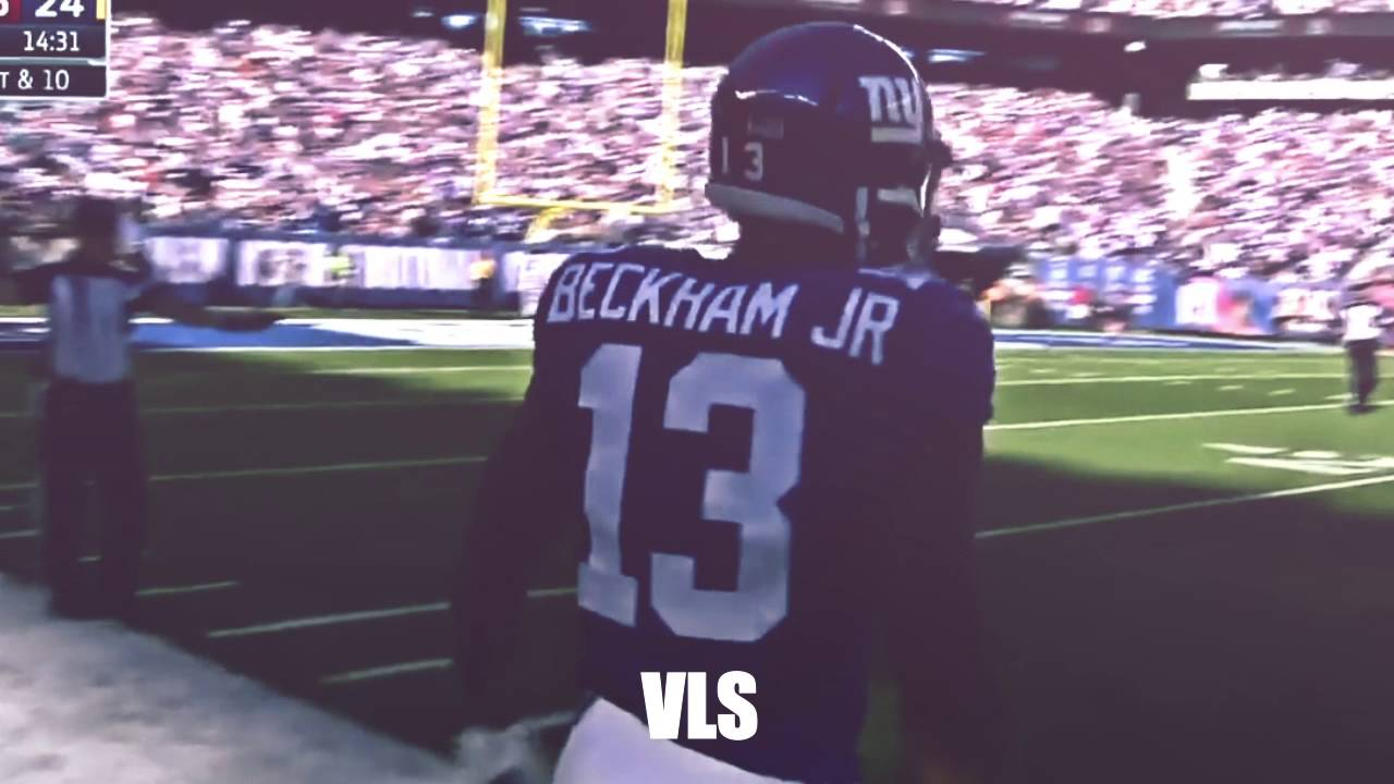 Odell's Ridiculous One Handed Grab & Spinning Stiff Arm on Norman!   Redskins vs  Giants   NFL