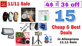 {12-13Nov} 20 Cheapeset Deals in Aliexpress 11/11 Sale | Aliexpress Sale Cheap Products|