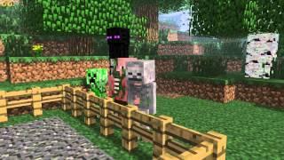 Monster School - Archery [Minecraft Animation]