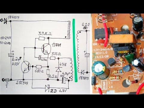 Li-Ion Charger + How does a Switching Power Supply work