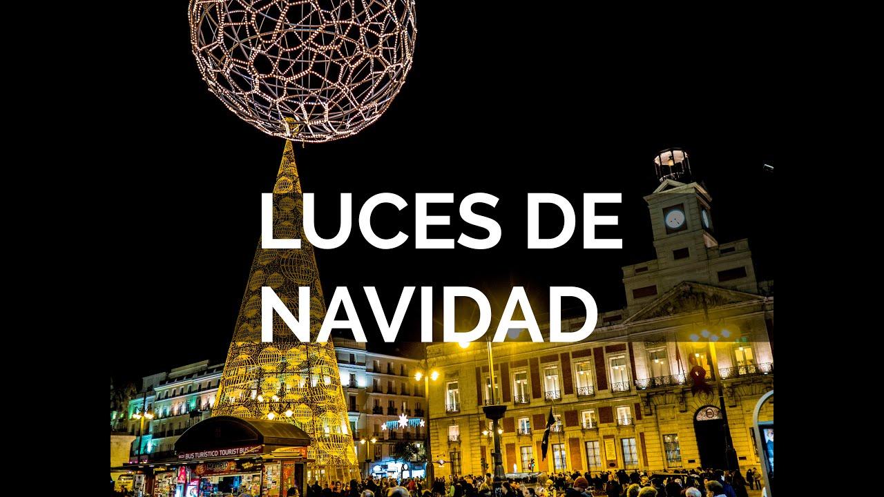 Luces de navidad madrid 2015 2016 youtube - Luces de navidad ...