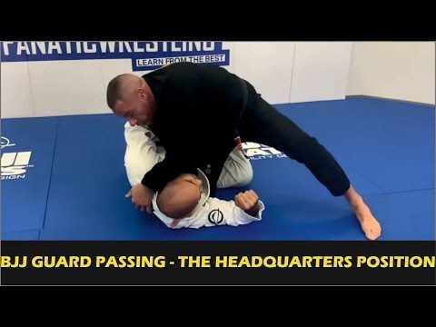 BJJ Guard Passing - The Headquarters Position by Rafael Lovato Jr.