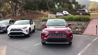 2019 Toyota RAV4 On The Road