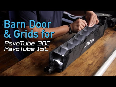 How to Use the NanLite PavoTube Barn Door and Grid: Ultimate Light Control