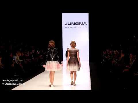 JUNONA FASHION HOUSE Болгария  на Mercedes Benz Fashion Week Russia 24 10 2015