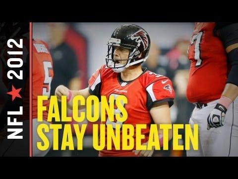 Falcons vs Raiders 2012: Atlanta Improves to 6-0 with Shocking 4th Quarter Comeback