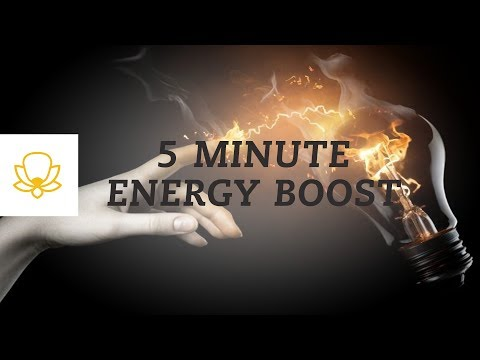 5-Minute Energy Boost Meditation / Power Check-In [Mindfulness Meditation]