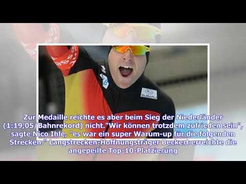 Eisschnelllauf-WM: Nico und Denny Ihle sowie Patrick Beckert überzeugen