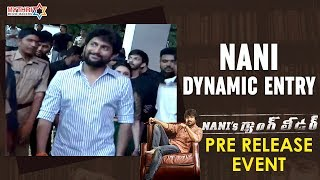 Nani Dynamic Entry | Nani's Gang Leader Pre Release Event | Karthikeya | Vikram Kumar | Anirudh