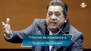 Tribunal Electoral regresa al INE el caso Salgado Macedonio