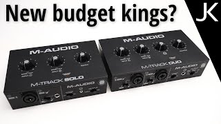 M-Audio M-Track Solo and Duo USB Interface– REVIEW (compared to Behringer)