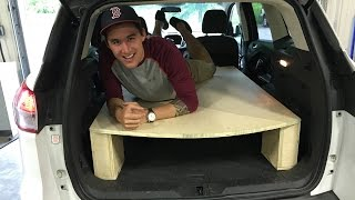 Building a Ford Escape to Camp/Live/VanLife