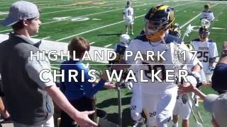Chris Walker LSM (Georgetown Commit) Junior Lacrosse Highlights