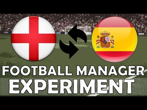 Top English Clubs Swapped With Top Spanish Clubs | Football Manager 2017 Experiment