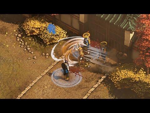 Shadow Tactics Demo Mission 1, Osaka, in hardcore skill and 4k Ultra HD