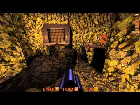 Quake Mission Pack: 2 Dissolution of Eternity - 09 Elemental Fury I - All Secrets - 1080p 60fps  