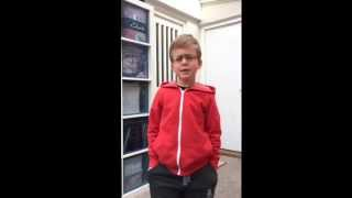 Let it go frozen. Male version from childrens choir.